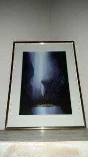Phantastisch Kunstdruck von H W