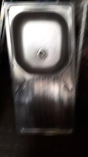 Spüle Becken ohne Schrank Metall
