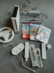 Nintendo Wii Konsole Inklusive Spiele