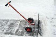 Schneeschieber auf Rädern Hier günstig