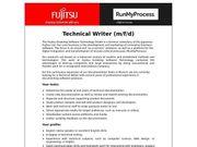 Technical Writer m f d