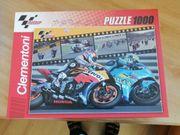 Puzzle Motorrad