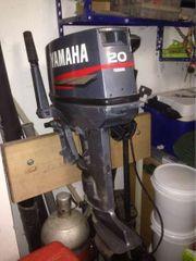 Yamaha 20 Ps Aussenbordmotor kurzschaft