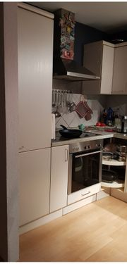 Einbauküche hellgrau
