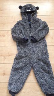 warmer teddy anzug