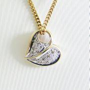 Anhänger Gold 585er Diamanten Bicolor