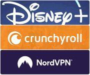 PREMIUM Accounts DisneyPlus NordVPN Crunchyroll