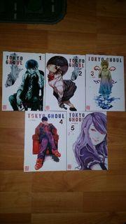 Tokyo Ghoul Manga Band 1-5