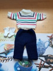 Puppenkleidung Pullover Hose Socken