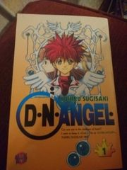 D N Angel Manga Band