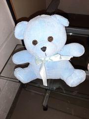Hell Blauer Teddybär mit heller