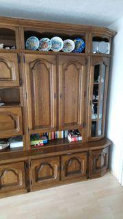 Wohnzimmer Schrankwand zu verschenken