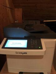 Lexmark CX510de -Multifunktions-Farblaserdrucker- volle Funktion