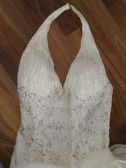 Brautkleid - plus Bonus Schleier und