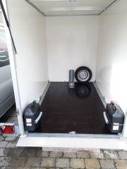 Motorradanhänger - Absenkbar - Geschlossen