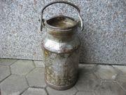 Alte Milchkanne 20 Liter aus