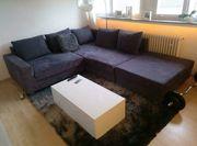 Sofa Couch L-Form mit Ottomane