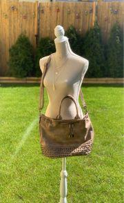 Handtasche Shopper neu beige mit