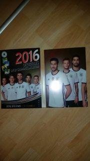 DFB Sammelkarten Album voll EM
