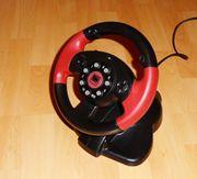 PC Lenkrad USB SpeedLink Red