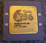 CPU Cyrix 6x86-P166 GP w Capacitors