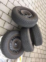 Winterräder 195 65 15 Dunlop