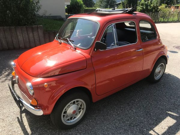 Funfahrzeug Fiat 500