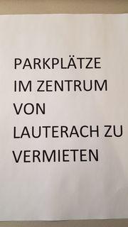 Parkplatz in Lauterach