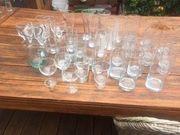verschiedene Gläser