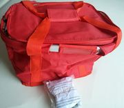 Fahrrad-Tasche Cooler rot wie Lenkerkorb