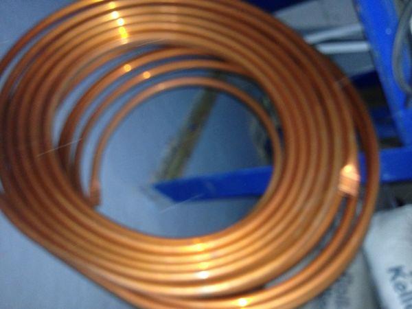 Kupferrohr Ring Kupferleitung