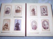 Fotoalbum um 1890 mit Fotos