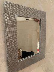 Glitzer Design Spiegel zu verschenken