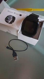 neue Smart watch in schwarz