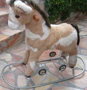 Stabiles Schaukelpferd mit Räder guter