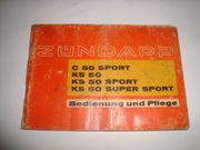 Zündapp KS 50 C50 Spoer