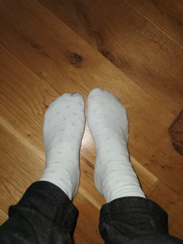 getragen Socken