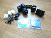 Nikon D 3100 mit Zubehör