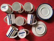 8 Rosenthal Espressotassen mit 5