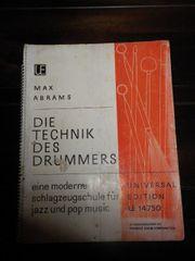 Schlagzeugschule Die Technik des Drumers -
