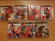 verschiedene PS3 Spiele