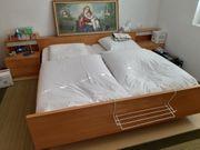 Doppelbett - Holz - Bett - guter Zustand