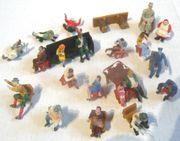 Modelleisenbahn H0 20 Figuren sitzend