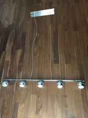 Trio LED-Pendelleuchte in Chromoptik