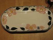 WILD-ROSE 2 x ovale Platten
