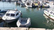 Verkaufe Schlauchboot mit Holzboden und