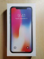 iPhone X Spacegrau 256GB Ohne