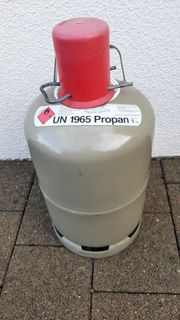 5 kg Gasflaschen befüllt
