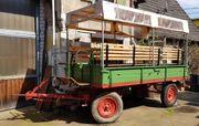 Planwagen Traktor-Anhänger