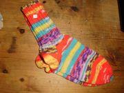 Handgestrickte Socken Gr 34 35